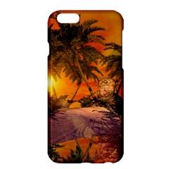 Wonderful Sunset In  A Fantasy World Apple Iphone 6 Plus/6s Plus Hardshell Case by FantasyWorld7