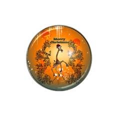 Funny, Cute Christmas Giraffe Hat Clip Ball Marker (10 Pack) by FantasyWorld7