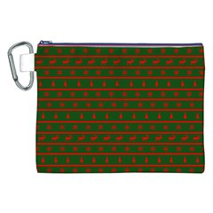 Ugly Christmas Sweater  Canvas Cosmetic Bag (xxl)  by CraftyLittleNodes