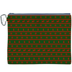 Ugly Christmas Sweater  Canvas Cosmetic Bag (xxxl)  by CraftyLittleNodes
