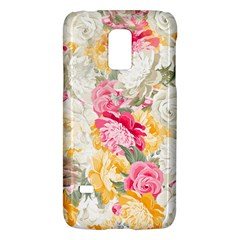 Colorful Floral Collage Galaxy S5 Mini by Dushan