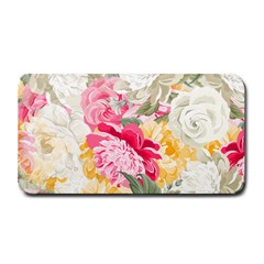 Colorful Floral Collage Medium Bar Mats by Dushan