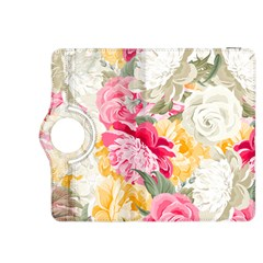 Colorful Floral Collage Kindle Fire HDX 8.9  Flip 360 Case by Dushan