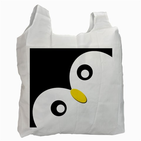 Penguin By X   Recycle Bag (one Side)   Ghr8rc19kunv   Www Artscow Com Front