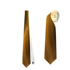 Shiny Silk Golden Neckties (two Side)  by MoreColorsinLife