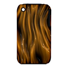 Shiny Silk Golden Apple iPhone 3G/3GS Hardshell Case (PC+Silicone) by MoreColorsinLife
