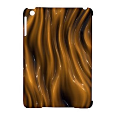 Shiny Silk Golden Apple iPad Mini Hardshell Case (Compatible with Smart Cover) by MoreColorsinLife