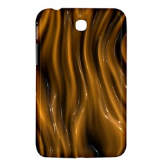 Shiny Silk Golden Samsung Galaxy Tab 3 (7 ) P3200 Hardshell Case  by MoreColorsinLife