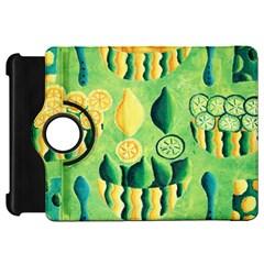 Lemons And Limes Kindle Fire Hd Flip 360 Case by julienicholls