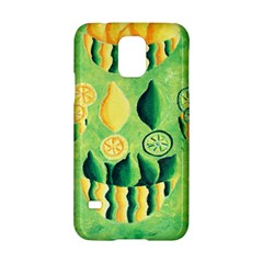 Lemons And Limes Samsung Galaxy S5 Hardshell Case  by julienicholls