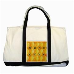 Lemons Two Tone Tote Bag  by julienicholls