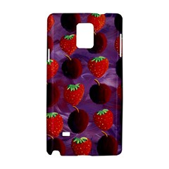 Strawberries And Plums  Samsung Galaxy Note 4 Hardshell Case by julienicholls