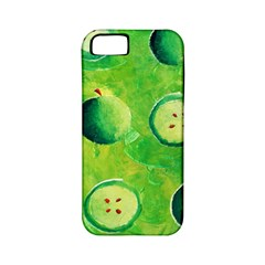 Apples In Halves  Apple Iphone 5 Classic Hardshell Case (pc+silicone) by julienicholls