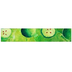 Apples In Halves  Flano Scarf (large)  by julienicholls