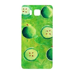Apples In Halves  Samsung Galaxy Alpha Hardshell Back Case by julienicholls