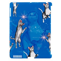Funny, Cute Playing Cats With Stras Apple Ipad 3/4 Hardshell Case (compatible With Smart Cover) by FantasyWorld7