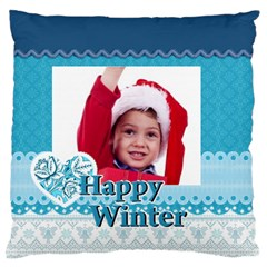 Xmas By Joy   Large Cushion Case (two Sides)   Diryki7ppxlr   Www Artscow Com Front