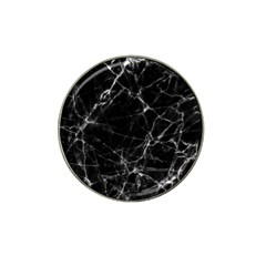 Black Marble Stone Pattern Hat Clip Ball Marker by Dushan