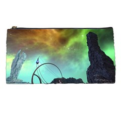 Fantasy Landscape With Lamp Boat And Awesome Sky Pencil Cases by FantasyWorld7