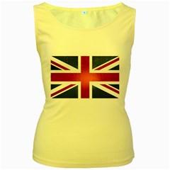 Brit3 Women s Yellow Tank Tops by ItsBritish