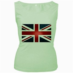 Brit3 Women s Green Tank Tops by ItsBritish