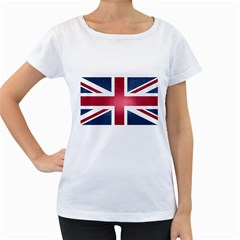 Brit3 Women s Loose-Fit T-Shirt (White) by ItsBritish