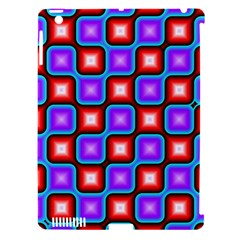 Connected Squares Pattern Apple Ipad 3/4 Hardshell Case (compatible With Smart Cover) by LalyLauraFLM