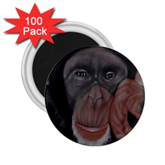 The Thinker 2 25  Magnets (100 Pack)  by timelessartoncanvas