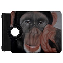 The Thinker Kindle Fire HD Flip 360 Case by timelessartoncanvas