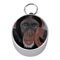 The Thinker Mini Silver Compasses by timelessartoncanvas
