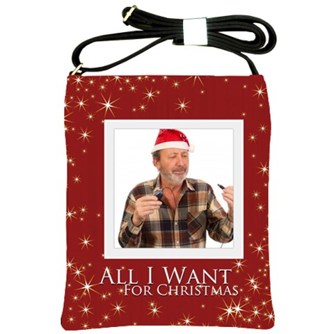 Xmas By May   Shoulder Sling Bag   Atfyzqmynwaj   Www Artscow Com Front