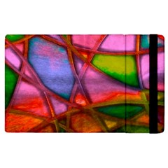 Imposant Abstract Red Apple iPad 2 Flip Case by ImpressiveMoments
