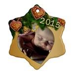 Jane 2015 Snowflake ornament - Ornament (Snowflake)