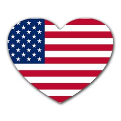 Usa1 Heart Mousepads