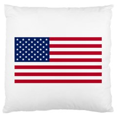 Usa1 Large Flano Cushion Cases (two Sides)  by ILoveAmerica