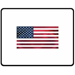 Usa2 Fleece Blanket (medium)  by ILoveAmerica