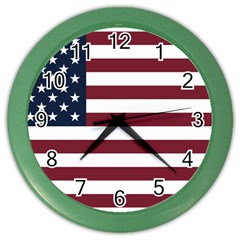 Usa999 Color Wall Clocks by ILoveAmerica