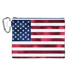 Usa9999 Canvas Cosmetic Bag (L) by ILoveAmerica