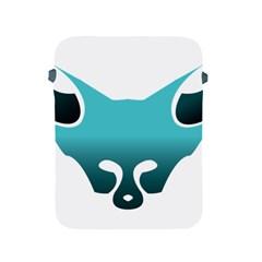 Fox Logo Blue Gradient Apple Ipad 2/3/4 Protective Soft Cases by carocollins