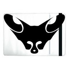 Black Fox Logo Samsung Galaxy Tab Pro 10 1  Flip Case by carocollins