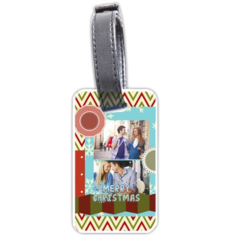 Snow By Joy   Luggage Tag (one Side)   Nxd969n1lz1a   Www Artscow Com Front
