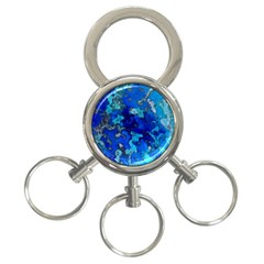 Cocos Blue Lagoon 3 Ring Key Chains by CocosBlue