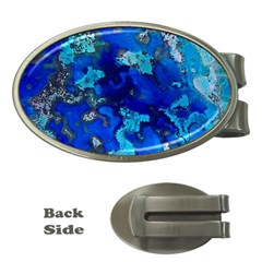 Cocos Blue Lagoon Money Clips (oval)  by CocosBlue