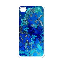Cocos Blue Lagoon Apple Iphone 4 Case (white) by CocosBlue