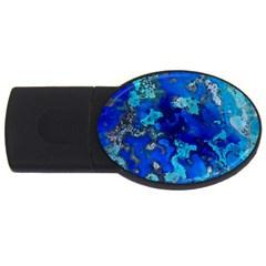 Cocos blue lagoon USB Flash Drive Oval (2 GB)  by CocosBlue