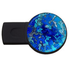 Cocos blue lagoon USB Flash Drive Round (4 GB)  by CocosBlue