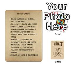 Hobbit Love Letter Retheme 3 Decks By Aaron Lambert   Playing Cards 54 Designs   5edihaa7e3mv   Www Artscow Com Front - Diamond9