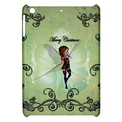 Cute Elf Playing For Christmas Apple Ipad Mini Hardshell Case by FantasyWorld7