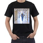 Angel Akinson Mans Black Large Tee shirt - Men s T-Shirt (Black)