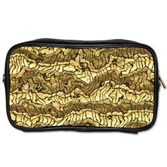 Alien Skin Hot Golden Toiletries Bags 2 Side by ImpressiveMoments